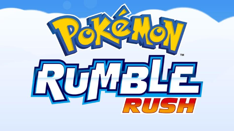 Pokémon Rumble Rush:  Pokémon no celular!